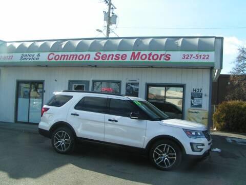2016 Ford Explorer for sale at Common Sense Motors in Spokane WA