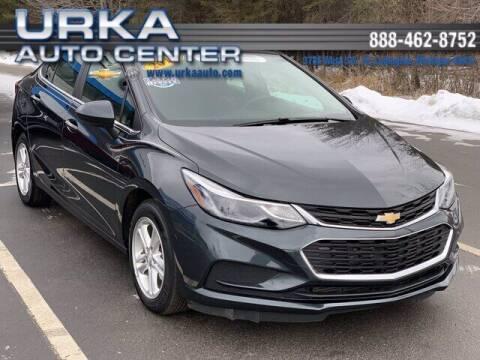 2018 Chevrolet Cruze for sale at Urka Auto Center in Ludington MI