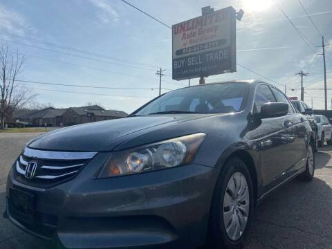 2012 Honda Accord for sale at Unlimited Auto Group in West Chester OH