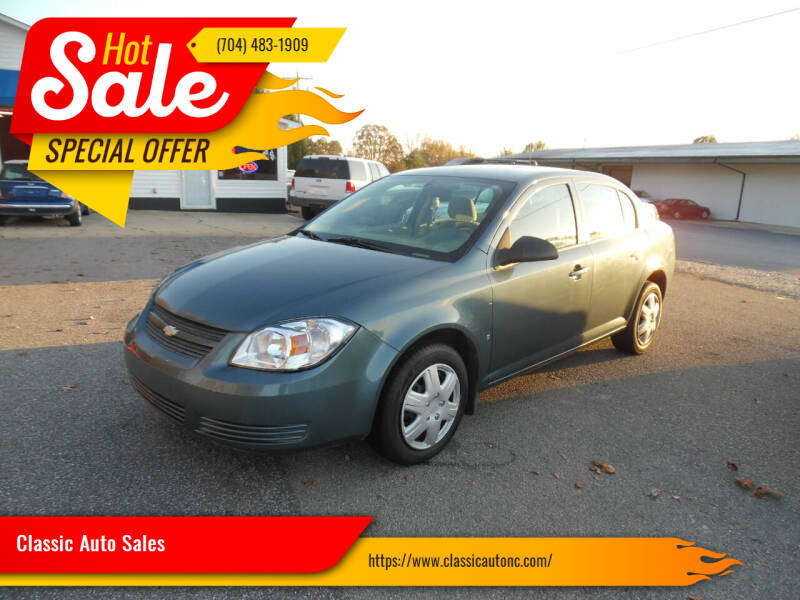 2007 Chevrolet Cobalt for sale at Classic Auto Sales in Maiden NC