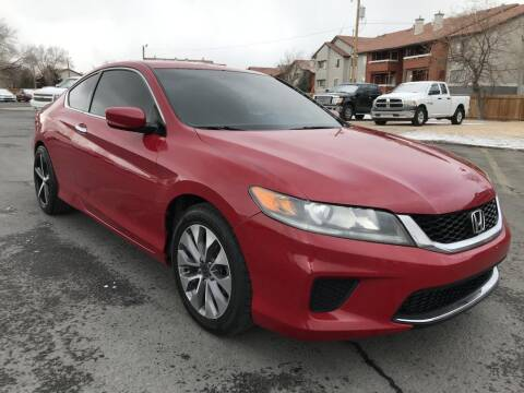 2013 Honda Accord for sale at INVICTUS MOTOR COMPANY in West Valley City UT