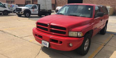 2001 Dodge Ram Pickup 1500 for sale at Cargo Vans of Chicago LLC in Mokena IL