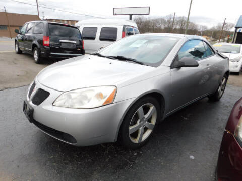 2007 Pontiac G6 for sale at WOOD MOTOR COMPANY in Madison TN