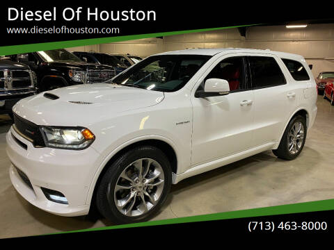 2020 Dodge Durango for sale at Diesel Of Houston in Houston TX