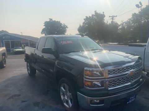 2015 Chevrolet Silverado 1500 for sale at EAGLE AUTO SALES in Lindale TX