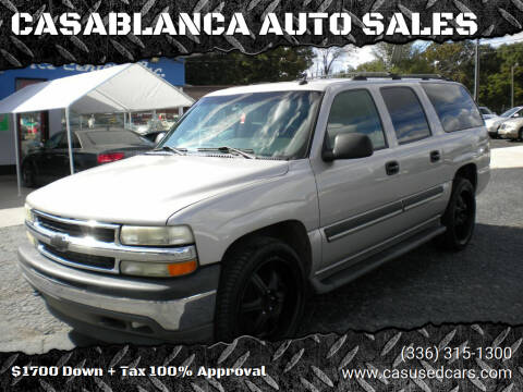 2005 Chevrolet Suburban for sale at CASABLANCA AUTO SALES in Greensboro NC