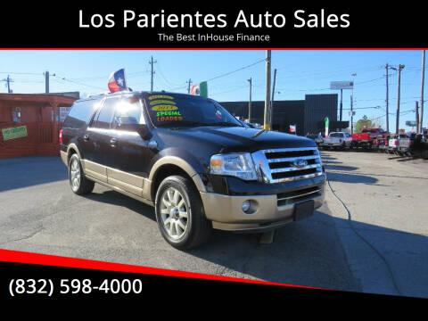 2013 Ford Expedition EL for sale at Los Parientes Auto Sales in Houston TX