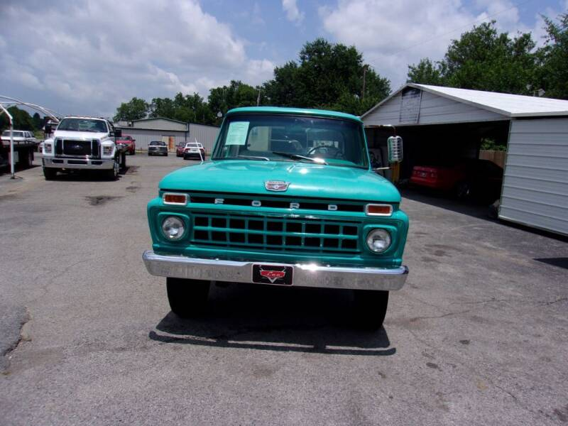 1965 Ford F-100 for sale at LEE AUTO SALES in McAlester OK