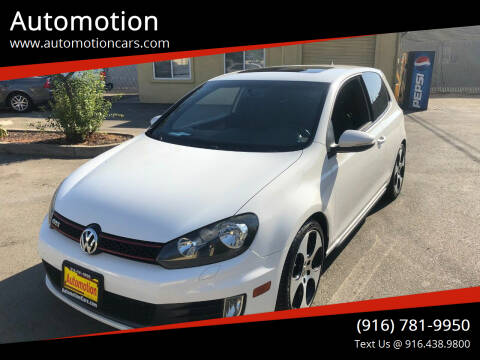 2011 Volkswagen GTI for sale at Automotion in Roseville CA