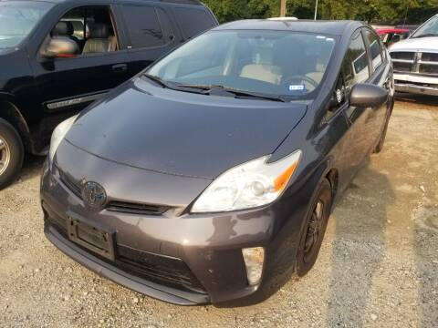 2013 Toyota Prius for sale at D & D All American Auto Sales in Mt Clemens MI