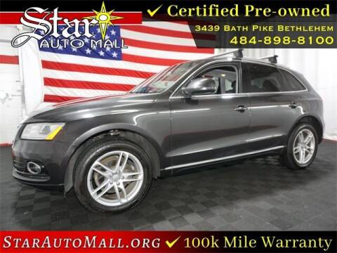 2014 Audi Q5 for sale at STAR AUTO MALL 512 in Bethlehem PA