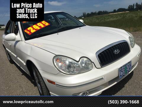 2004 Hyundai Sonata for sale at Low Price Auto and Truck Sales, LLC in Brooks OR