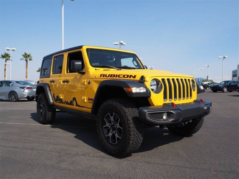 2018 Jeep Wrangler Unlimited for sale in Las Vegas, NV