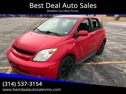 2005 Scion xA for sale at Best Deal Auto Sales in Saint Charles MO
