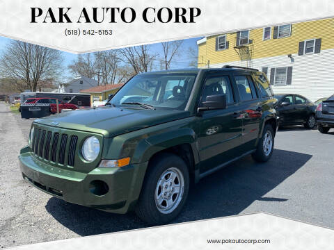 2009 Jeep Patriot for sale at Pak Auto Corp in Schenectady NY