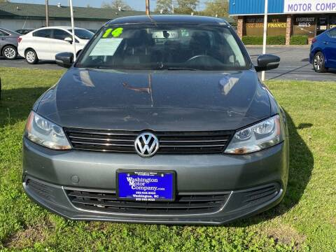 2014 Volkswagen Jetta for sale at Washington Motor Company in Washington NC