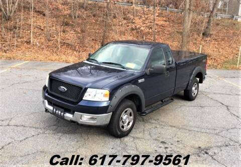 2005 Ford F-150 for sale at Wheeler Dealer Inc. in Acton MA