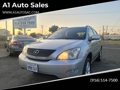 2005 Lexus RX 330 for sale at A1 Auto Sales in Sacramento CA