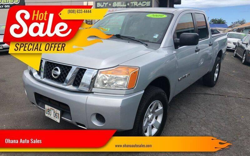 2009 Nissan Titan for sale at Ohana Auto Sales in Wailuku HI