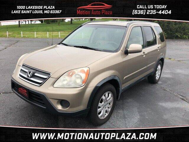 2005 Honda CR-V for sale at Motion Auto Plaza in Lakeside MO