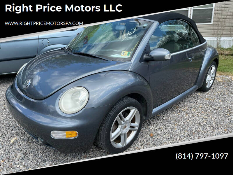2004 Volkswagen New Beetle Convertible for sale in Cranberry Twp, PA