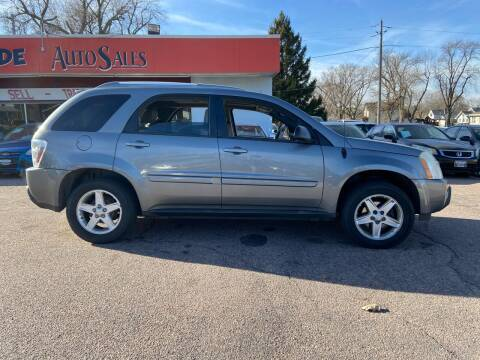 2005 Chevrolet Equinox for sale at RIVERSIDE AUTO SALES in Sioux City IA