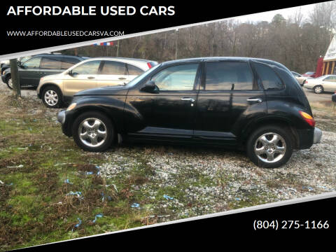 2002 Chrysler PT Cruiser for sale at AFFORDABLE USED CARS in Richmond VA