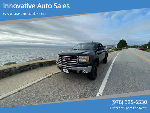 2012 GMC Sierra 1500 for sale at Innovative Auto Sales in North Hampton NH