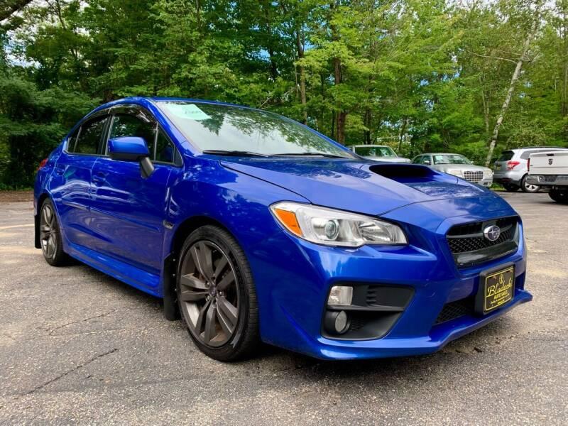 2017 Subaru WRX for sale at Bladecki Auto LLC in Belmont NH