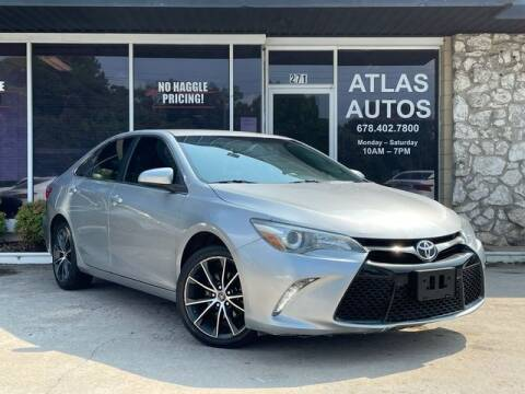 2015 Toyota Camry for sale at ATLAS AUTOS in Marietta GA