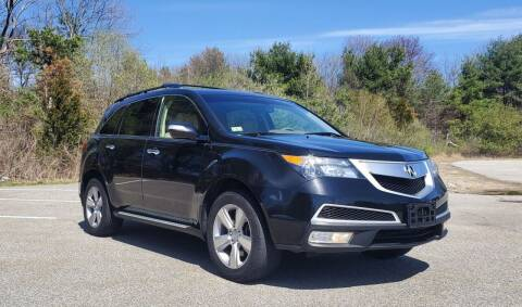 2011 Acura MDX for sale at Westford Auto Sales in Westford MA