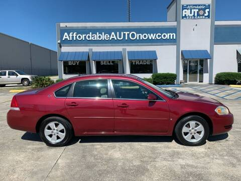 2006 Chevrolet Impala for sale at Affordable Autos in Houma LA