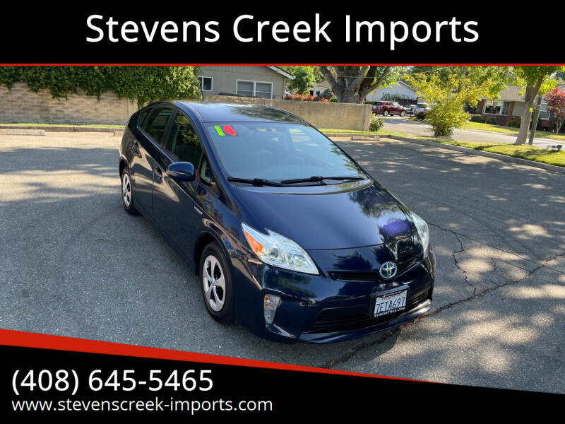 2014 Toyota Prius for sale at Stevens Creek Imports in San Jose CA