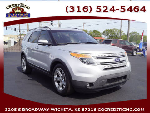 2013 Ford Explorer for sale at Credit King Auto Sales in Wichita KS