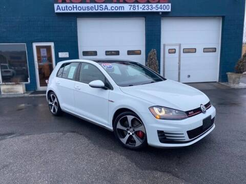 2017 Volkswagen Golf GTI for sale at Saugus Auto Mall in Saugus MA