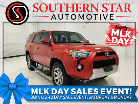 2015 Toyota 4Runner for sale at Southern Star Automotive, Inc. in Duluth GA