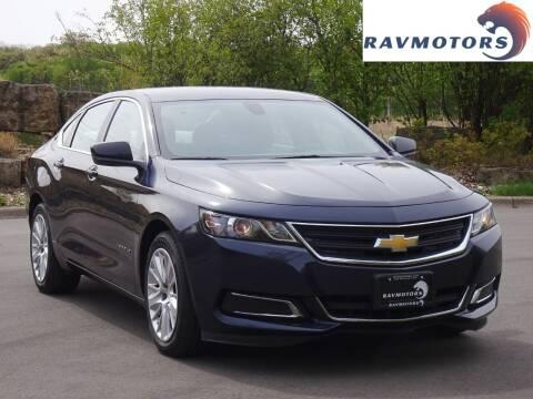 2019 Chevrolet Impala for sale at RAVMOTORS in Burnsville MN