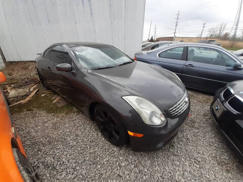 2006 Infiniti G35 for sale at EHE Auto Sales Parts Cars in Marine City MI