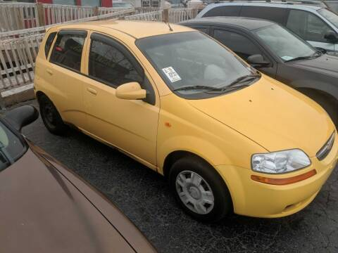 2004 Chevrolet Aveo for sale at Kash Kars in Fort Wayne IN