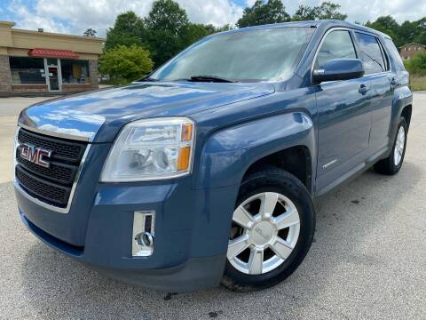 2011 GMC Terrain for sale at Gwinnett Luxury Motors in Buford GA