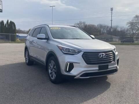 2018 Hyundai Santa Fe for sale at Betten Baker Preowned Center in Twin Lake MI
