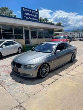 2010 BMW 3 Series for sale at Right Away Auto Sales in Colorado Springs CO