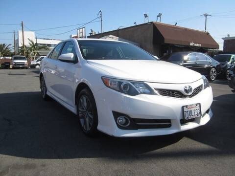 2013 Toyota Camry for sale at Win Motors Inc. in Los Angeles CA
