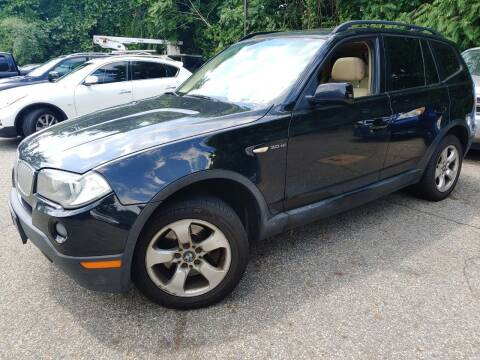 2008 BMW X3 for sale at CRS 1 LLC in Lakewood NJ