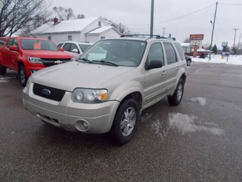2005 Ford Escape for sale at Jenison Auto Sales in Jenison MI