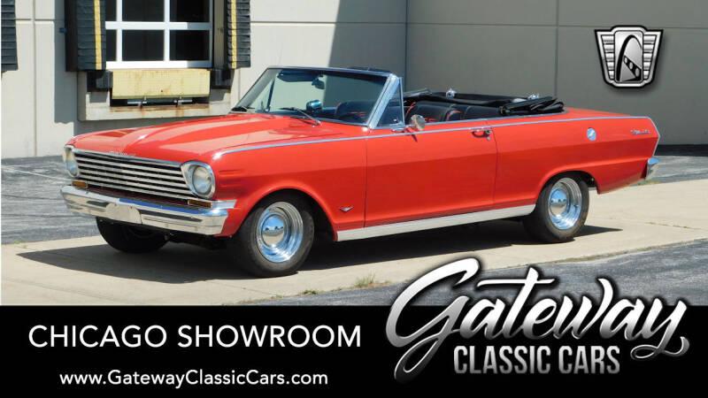 1963 Chevrolet Nova for sale in Crete, IL