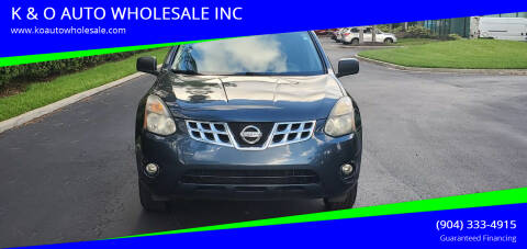 2014 Nissan Rogue Select for sale at K & O AUTO WHOLESALE INC in Jacksonville FL