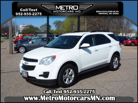 2014 Chevrolet Equinox for sale at Metro Motorcars Inc in Hopkins MN