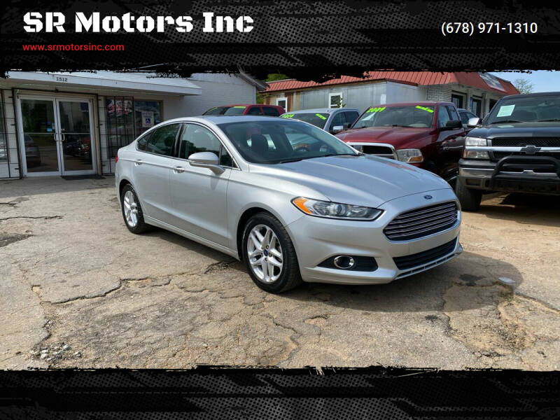 2014 Ford Fusion for sale at SR Motors Inc in Gainesville GA