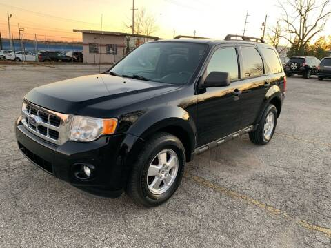 2012 Ford Escape for sale at Eddie's Auto Sales in Jeffersonville IN